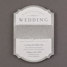 Occasions to Blog: 2015 Wedding Themes - Glitz and Glam (Invitation Link - http://occasionsinprint.carlsoncraft.com/Wedding/Wedding-Invitations/3284-RT35231SG-All-That-Glam--Invitation--Silver.pro)