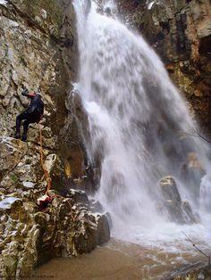 Fakistra canyon, Mt Pelion