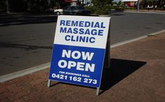 A Frame Advertising Signs Adelaide A Frame Signs, 3d Signs, Massage Clinic, Digital Banner, Remedial Massage, Church Signs, Reception Signs, School Signs, Advertising Signs