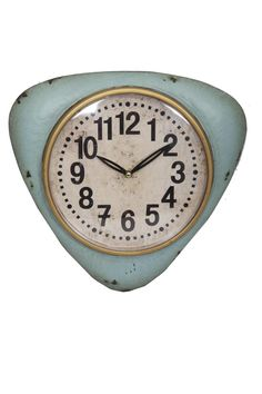 Antic Line Modré vintage hodiny Pendule 3d Wall Clock, Pendulum Wall Clock, Wall Clock Online, London Clock, Discount Designer, Vintage Walls, Cool Gifts, Branding Design, Retro
