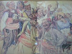 Provincial Bulgaria - the first half of the 20th century, a lost world depicted by the Bulgarian painter and humorist writer Chudomir