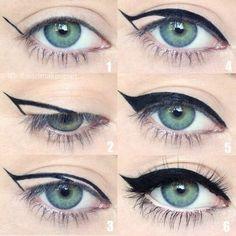 Pink Eyeshadow | Burgundy Liquid Eyeliner | Red And Blue Eyeshadow Palette 20190310