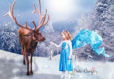 Fairytale shoot, Frozen Elsa inspirered by Photo Osenga