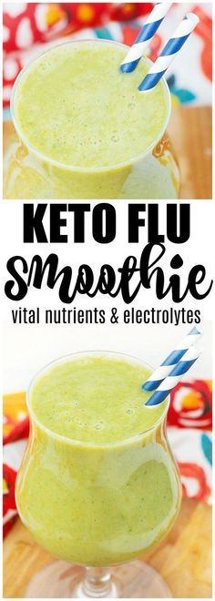 keto flu smoothie Kick your keto flu symptoms super fast with this easy keto flu smoothie. Don't get dragged down anymore, start reaping one of the biggest benefits of keto- energy!