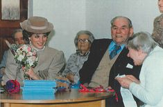 11 March 1986 Princess Diana opens St Mary's day centre for the elderly in Byfleet ,Surrey