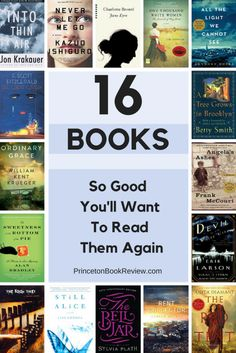 I never read books twice -- but this list has me rethinking that. www.fearlessmiss.com
