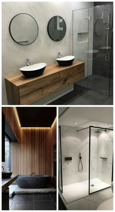 Small Bathroom Decorating Ideas is categorically important for your home. Whether you pick the Luxury Bathroom Master Baths Paint Colors or Luxury Bathroom Master Baths Paint Colors, you will create t Zen Bathroom, Bathroom Sets, Bathroom Interior, Small Bathroom, Budget Bathroom, Bathroom Black, Luxury Master Bathrooms, Amazing Bathrooms, Bad Inspiration