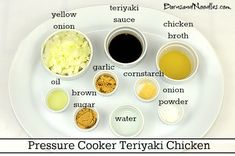 I made Pressure Cooker Teriyaki Chicken this week and it was a total hit! The chicken was perfectly tender, texture is very important to… Electronic Pressure Cooker, Power Pressure Cooker, Pressure Pot, Using A Pressure Cooker, Instant Pot Pressure Cooker, Pressure Cooking Recipes, Crock Pot Cooking, Slow Cooker Recipes, Teriyaki Chicken