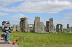 World Traveler at Stone henge
