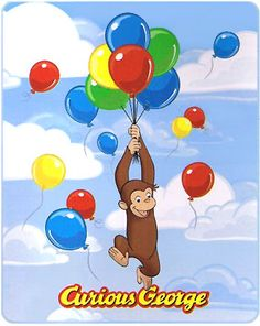 kids bedding sets, girls bedding sets, boys bedding sets, Disney wall decor and other wall decorating ideas. Curious George Party, Curious George Cakes, Curious George Birthday, Wallpaper Space, Cartoon Wallpaper, Curios George, Happy Birthday Chris, Disney Wall Decor, Monkey Birthday