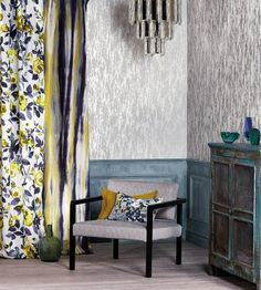 Suppliers of Romo Fabrics and wallpapers   Call 01594 833841 for any interior needs you may have.  www.calicointeriors.co.uk