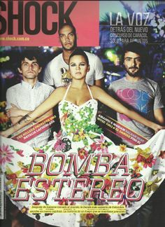 Revista Shock Magazine www.shock.com.co (Bomba Estereo)