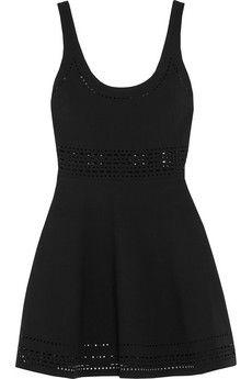 Elizabeth and James Aspen laser-cut stretch-jersey mini dress | NET-A-PORTER