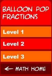 Have fun popping balloons with fractions.  Three levels.  Could use on the smart board.  Idea is to pop them from smallest to largest in the quickest time.