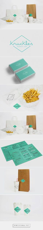 Knuckles Sandwich Bar Branding by Smack Bang Designs | Fivestar Branding –…