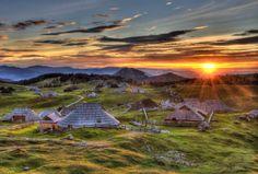 sunrise, Velika Planina <3