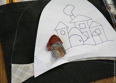 Шьем уютные домашние тапочки - Ярмарка Мастеров - ручная работа, handmade