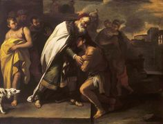 The Parable of the Prodigal Son-Received Home by His Father- Luca Giordano