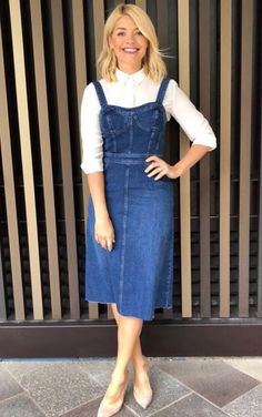 Holly Willoughby Just Wore the Most Flattering Dress — and It's A Warehouse Gem