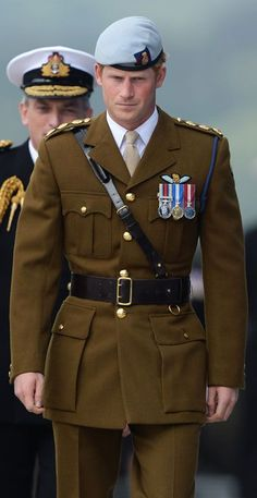 2013: Prince Harry visits Royal Marines Tamar in Plymouth to open the Navy's newly built centre of amphibious excellence