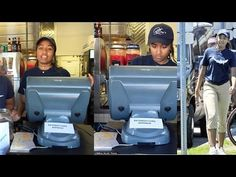 La hija de Barack Obama trabaja en un restaurante de Mariscos - YouTube