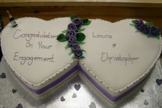 Top 10 Cute Engagement Cake Ideas That Are Easy To Make - event Floral Wedding Cakes, Themed Wedding Cakes, Wedding Cake Designs, Wedding Ideas, Fancy Cakes, Cute Cakes, Happy Anniversary Cakes, 25th Anniversary, Engagement Cakes