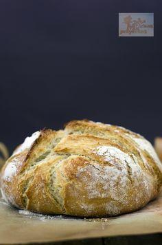 Pan casero sin amasado | Cocina