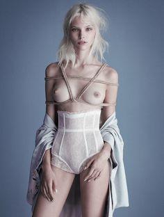 Sasha Luss by Luigi + Daniele Duella & Iango Henzi for Exhibition Magazine