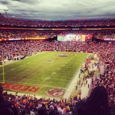 Home of the Washington Redskins!