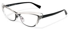 Alain Mikli A01291 - AL1291 M0CD Black Palladium/Pearly Black eyeglasses