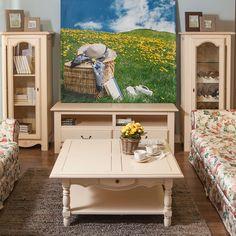 Colecția pentru living Vence. Am ales pentru tine nuanțe calde și vibrante care să-ți amintească de peisajele de vară, în plină iarnă. Cromatica caldă a pieselor de mobilier se completează cu o canapea confortabilă, pentru răsfăț desăvârșit. Provence, Vanity, Beige, Living Room, Mirror, Interior, Furniture, Collection, Home Decor