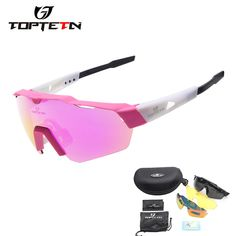 d123c6eb2a 2018 NEW 3 Lens Brand Design Outdoor Sports Polarized Cycling Glasses  Eyewear TR90 Men Women Bike