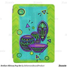 Artifact African Pop Art iPad Air Cover