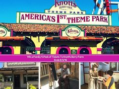 Win a Family 4-Pack of Tickets To Knott's Berry Farm - Family Review Guide