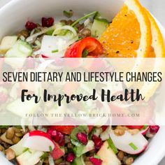 Are you tired of feeling sick and tired? Check out these seven dietary and lifestyle changes for improved health that anyone can make. Autumn Home, Autumn Summer, Late Summer, Losing Weight Tips, Lose Weight, Whole Food Recipes, Healthy Recipes, Healthy Foods, Al Fresco Dinner