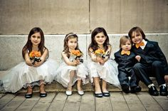 These wedding kids are just adorable! by Peardon Carrillo Photography