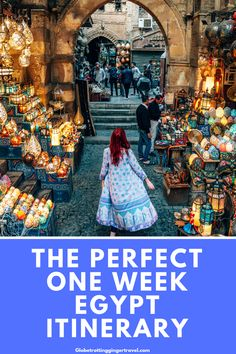 The Perfect Egypt Itinerary - Globetrotting Ginger - The perfect week long Egypt Itinerary, what to do in Egypt - Egypt Travel, Africa Travel, Africa Destinations, Travel Destinations, Places To Travel, Places To See, Egypt Culture, Les Continents, Safari