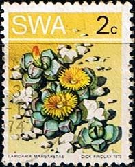 South West Africa 1973 Succulents    Fine Used SG 242 Scott 344 Other African and British Commonwealth Stamps HERE!