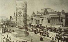 """Rio de Janeiro - """"Avenida das Nações"""", por ocasião das feiras da nações, nas comemorações do Centenário da Independência do Brasil, em 1922"""