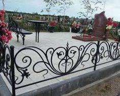 Afbeeldingsresultaat voor ограда на могилу фото