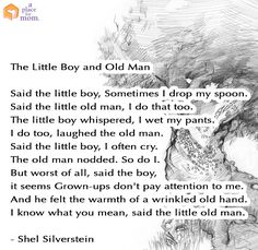 Quote: The Little Boy and Old Man by Shel Silverstein
