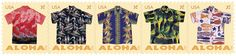 The stamps use photographs taken by Honolulu-based photographer Ric Noyle of historic shirts from island-based manufacturers and retailers Alfred Shaheen, Watumull's, Leilani, and Malihini  | Ken Kanaka's Tiki Talk: The Enchanted Tiki Blog  http://www.tiki-talk.com/archives/the-us-post-office-celebrates-the-aloha-shirt-with-a-series-of-stamps/