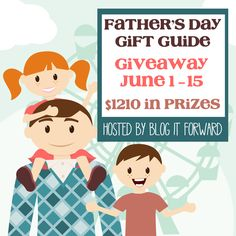 Father's Day Gift Guide Giveaway :: Win $1210 in Prizes! Ends 6/15