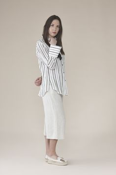 Striped shirt with bows on sleeves 145.00$