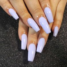 Get Inspired By This Easter Nails With Pastel Colors - # - Shapes Purple Acrylic Nails, Best Acrylic Nails, Purple Nails, Acrylic Nail Designs, Violet Nails, Aycrlic Nails, Cute Nails, Pretty Nails, Coffin Nails