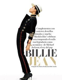 lineisy montero vogue | Lineisy Montero as Billie Jean for Vogue Spain (August 2015)