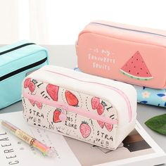 English Word Children Gift Stationery Pencil Bag Office Supplies For Kids Student Pencil Case School Supplies Cute Pencil Pouches, Cute Pencil Case, School Pencil Case, Pencil Bags, Stationary School, Cute Stationary, School Stationery, Cool School Supplies, Office Supplies