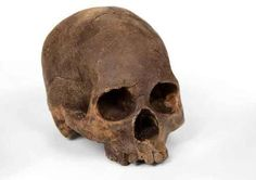 This is a skull made of chocolate...That's right. edible bonehead.   Marina Malvada Chocolate Skulls