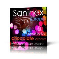 SANINEX PRESERVATIVO CHOCOLATE X 1 Original preservativo con sabor a chocolate. Dispone de mayor tamaño, elasticidad y extra lubricados.  Compra y aprovecha el precio de este artículo de primera calidad, indispensable para unas relaciones sexuales sanas. Es cómodo, práctico y seguro.  Cantidad: 1. Precio: 0,90€.