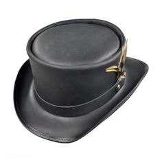 f97015a3dad47 Head  N Home Marlow Top Hat Leather Top Hat